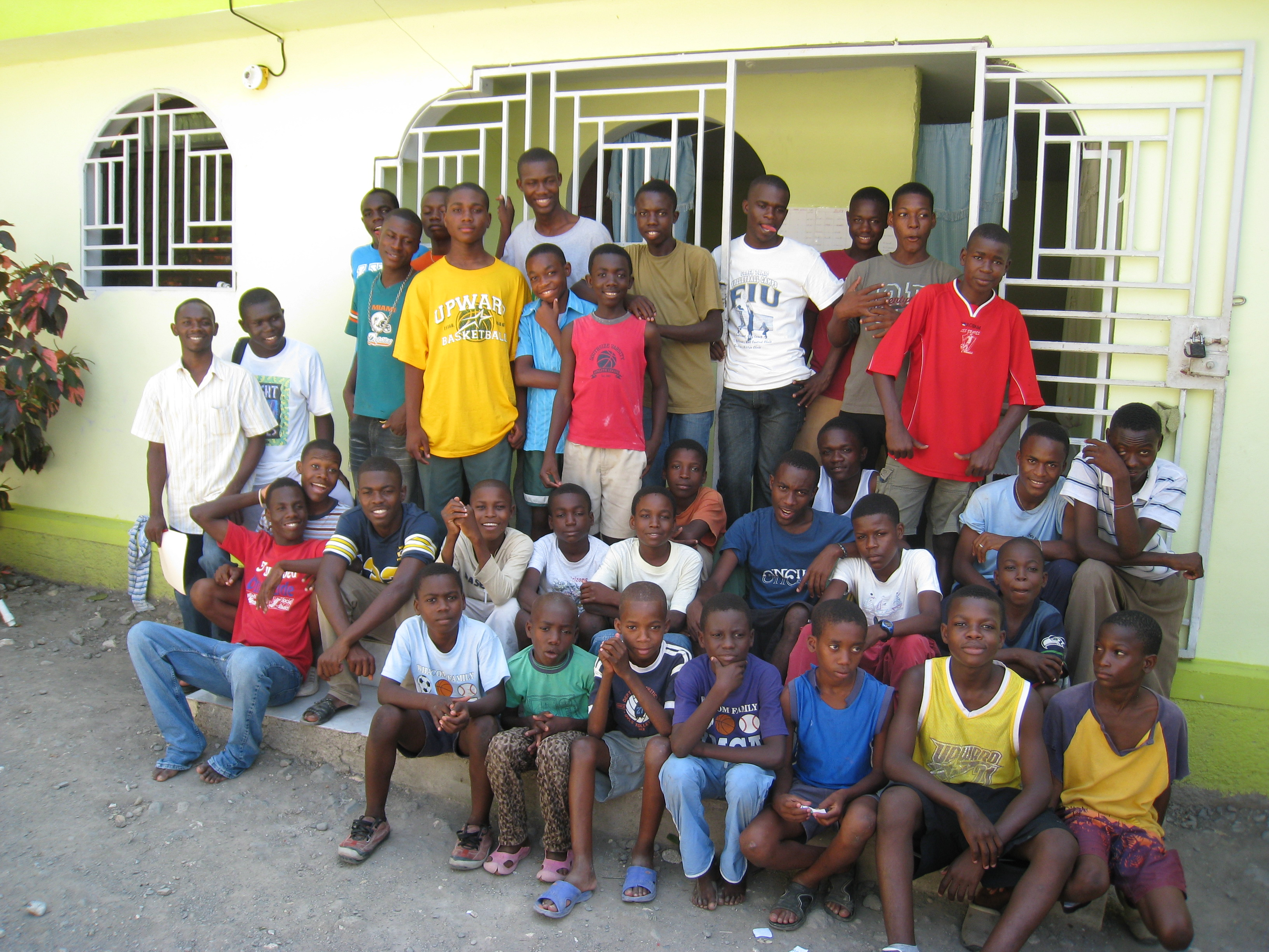 Starfish Ministries Orphan Boys